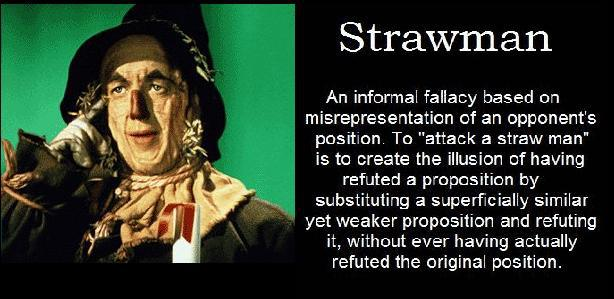 Image result for image of a strawman